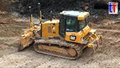 卡特彼勒D6K2 LGP推土机工作