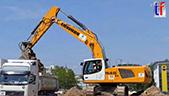 利渤海尔R946挖机装车