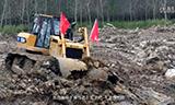 山工机械推土机洪灾中守护合肥人民安全