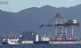 日本岸桥集装箱起重机船舶海上运输