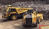 小松WA600-8 矿用轮式装载机与小松HD605-8矿用自卸车工作
