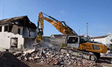 利勃海尔R950液压挖掘机拆迁