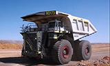 利勃海尔T282电动轮卡车生产交付过程