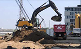 沃尔沃EC300挖掘机工作