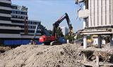 日立470挖掘机拆迁