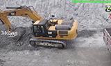 卡特彼勒320E挖掘机装车