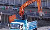 日立ZAXIS 225USR挖掘机工作