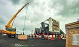 利勃海尔T284矿用自卸车组装