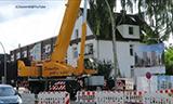 利勃海尔LTM 1300-6.2全地面起重机安装塔吊