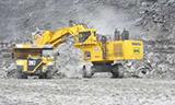 小松PC3000矿用正铲挖掘机