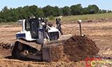 卡特彼勒推土机工作