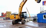 卡特336F LN挖掘机工作