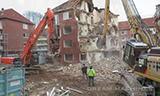 卡特彼勒349E长臂挖掘机拆楼