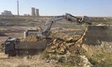 利勃海尔984大型挖掘机装车