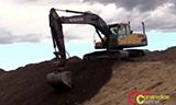 沃尔沃EC240C挖掘机工作