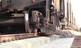 俄罗斯铁路铺设砟石