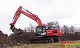 全新日立Zaxis 250LC-6挖掘机工作
