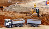卡特352F XE挖掘机装车