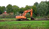 斗山DX225LC挖掘机工作