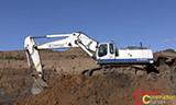 利勃海尔R964C 挖掘机工作