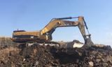 卡特385C 挖掘机煤矿装车