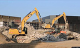 卡特336 挖掘机工作