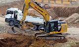 卡特彼勒324E挖掘机工作