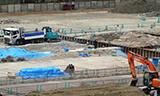 挖掘机拆迁工作