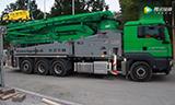 普茨迈斯特泵车施工展示