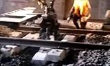 劲工JG80L铁路枕木铺设机履带
