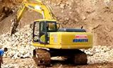 小松PC200挖掘机