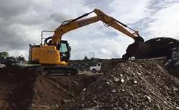 杰西博JZ141无尾挖掘机