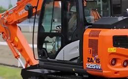 日立建机ZX125W-6轮式液压挖掘机