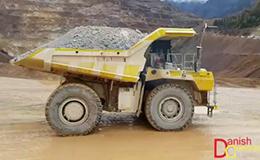利勃海尔T236矿山卡车