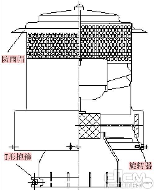 图1 空气预滤器