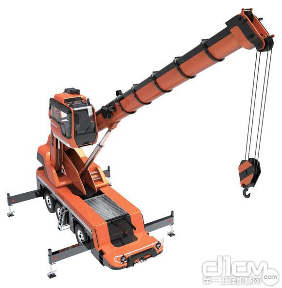 宽广视野:利用驾驶舱折臂可实现更有利的工作视角