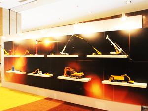 中国工程机械TOP50(2013)颁奖典礼外场模型