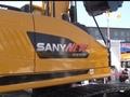 三一sy215挖掘机视频