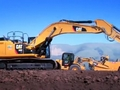 卡特336EH混合动力挖掘机