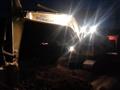 PC200夜间施工视频
