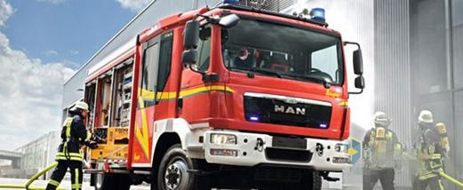 德国曼恩消防车