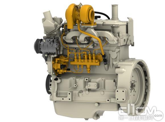 WL53采用和约翰迪尔E240 LC<a href=http://product.d1cm.com/wajueji/ target=_blank>挖掘机</a>同款发动机