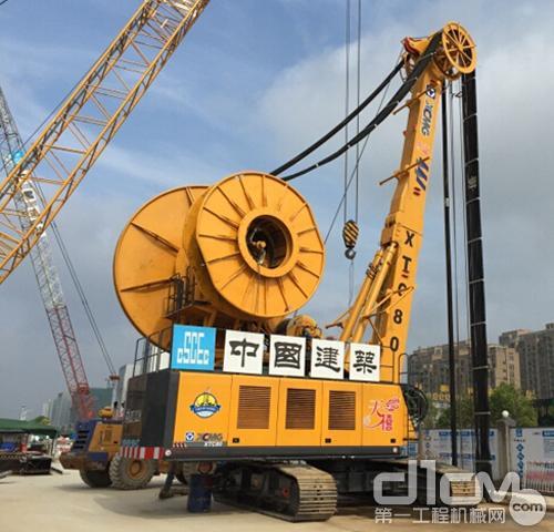 国产首台双轮铣助力徐州地铁建设