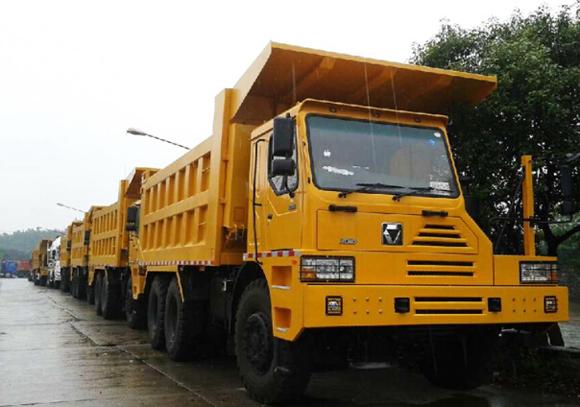 徐工矿山型自卸车再获105台订单
