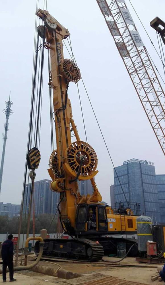徐工多功能地下连续墙施工设备XTC80/55成功下线并应用于地铁施工