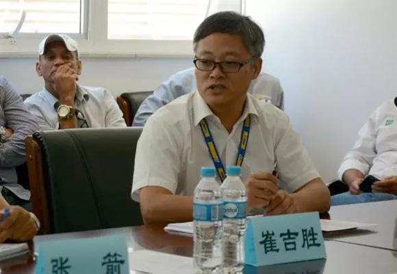 徐工巴西制造企业总经理崔吉胜