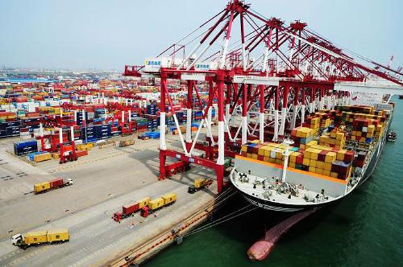 中国7月出口同比升2.9% ,连增五个月