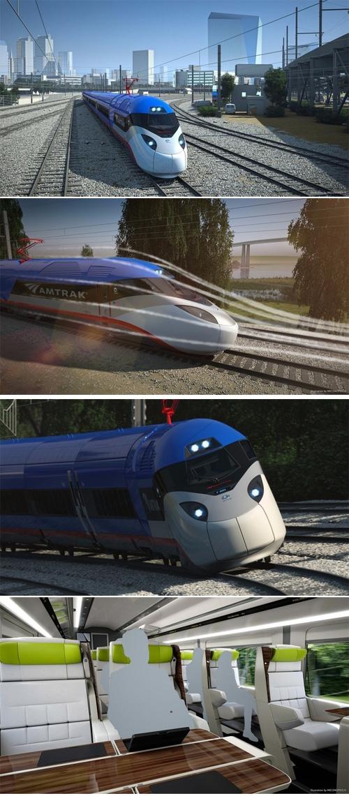 美国全新一代高铁2021年问世