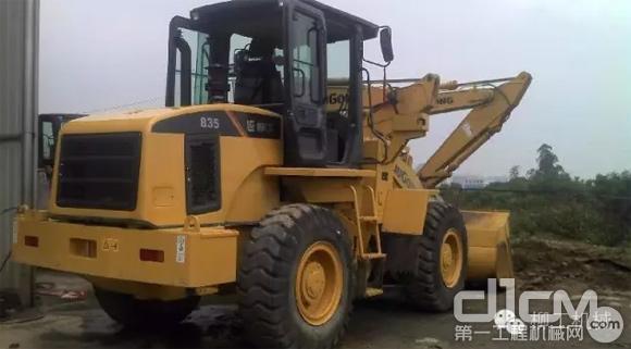 柳工CLG835H装载机强势进军中国及欧美市场