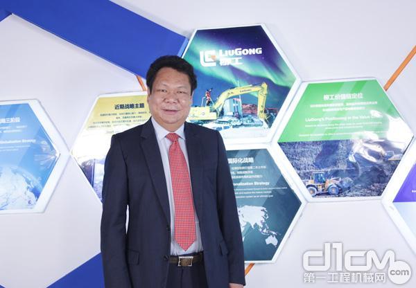 第一工程机械网记者独家专访广西柳工机械股份有限公司总裁俞传芬